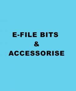 E-files Bits & Accessories